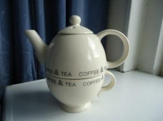 Eenpersoons Koffie of Theeset.