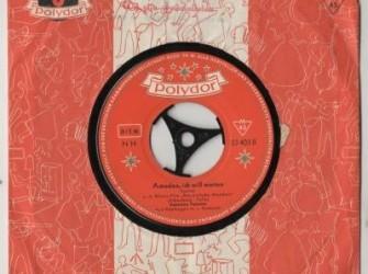 single Caterina Valente, Polydor 23403, 1957, orig.hoes
