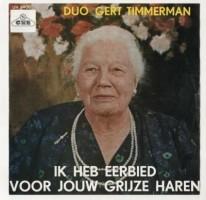 single Gert Timmerman,eerbied voor jouw grijze haren,'63
