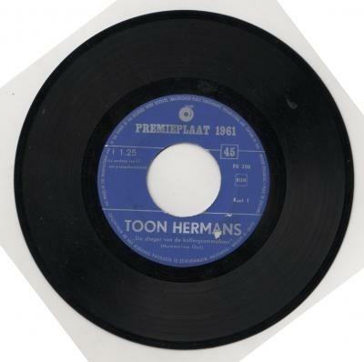 Toon Hermans / Wim Kan,'61, ccqc nr pr200