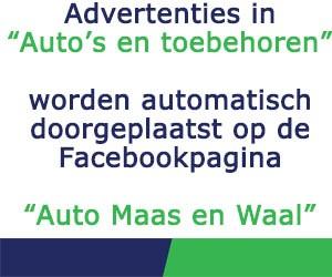 Facebookpagina Auto Maas en Waal