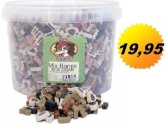 Minibotjes Partymix 3.5 KG – Beloningssnoepjes