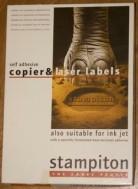 Aanbieding etiketten laserprinter/kopieermachine