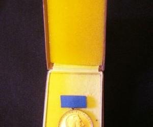 DDR medaille 10 j,trouwe dienst in pedagogisch werk,gst