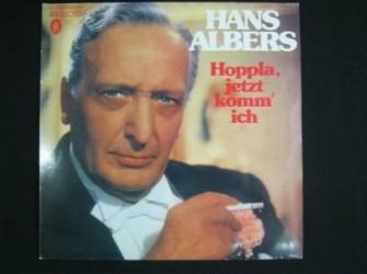 2 LP Hans Albers,EMI/electrola,1 C 148-30 058/59,zgst,mono