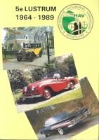 Boek Historische Automobiel Vereniging Nederland 1964-1989