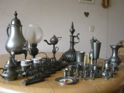 Grote collectie Tin