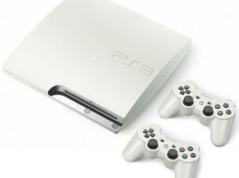 PS3 Slim 320 GB Wit + Extra Controller
