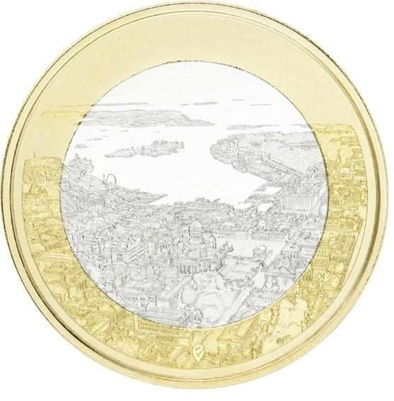 Finland 5 Euro 2018 Haven Helsinki UNC