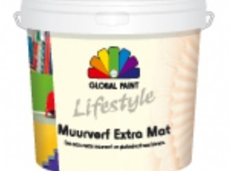 Global paint lifestyle muurverf extra mat