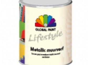 lifestyle metallic muurverf