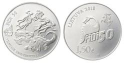 Litouwen 1,5 Euro 2018 FiDi