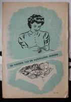 Oude folder- De voeding van de aanstaande moeder