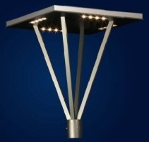 ROSA LED Lantaarnpaal armatuur MIZAR LED voor tuin en parkv…