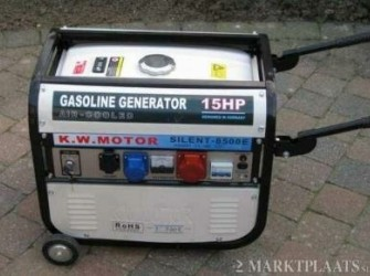 Kruiwagen 8500 Watt 8.5 Kw 220 V 380 Volt Nieuw AS