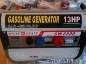 6500 Watt 6.5 KW Sleutel Start Aggregaat Nieuw AVR