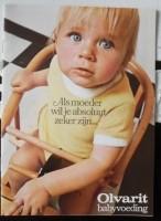 Oude folder - Olvarit babyvoeding