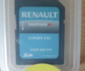 Renault sd-card Europa V32 (Orgineel)