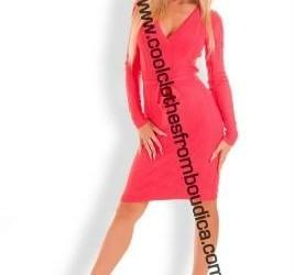 V-hals jurk trui jurk vest wol/cashmere