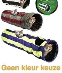 Speeltunnel, Feline Cruiser, 90 cm met catnip
