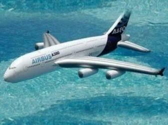 Opblaasbaar vliegtuig Airbus 380