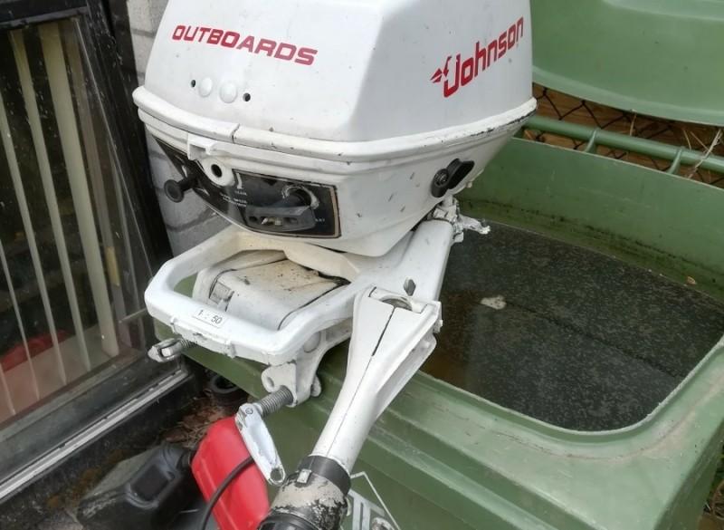 Rubberboot met 6pk motor