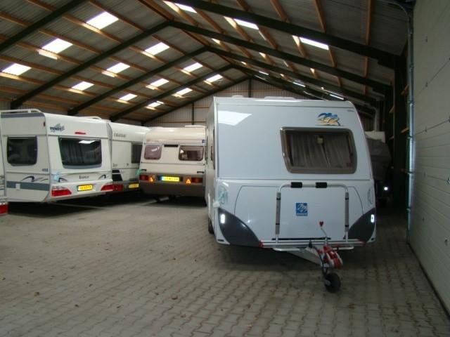 Stallingsruimte voor Caravans enz.