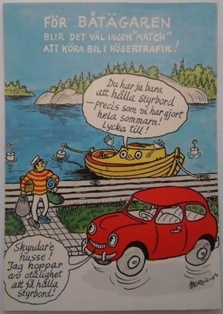 Zweedse spotprent