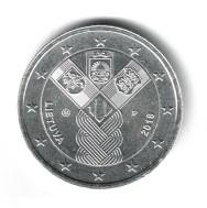 Litouwen 2 Euro 2018 Baltische Onafhankelijkheid Verzilverd