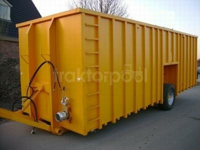 ZHE Mestcontainer - RVS -