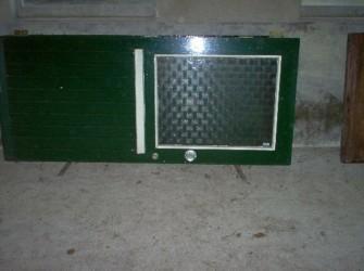 Te koop: 2 hardhouten deuren
