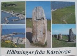 Ansichtkaart Hälsningar fran Kaseberga