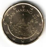 San Marino 20 Cent 2018
