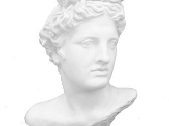 Beeld Apollo hoofd