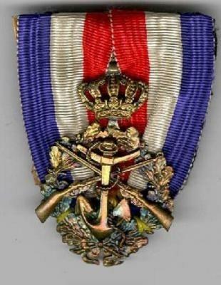 Medaille Scherpschutter Koninklijke Marine