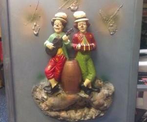 Clowns 3D schilderij