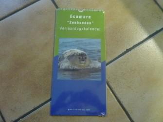 Kalender van EcoMare (leuk!)