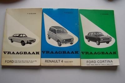 Vraagbaak Ford 17m-ts-rs; 20m-ts-xl-rs;1968-1972; 26m1970,7…
