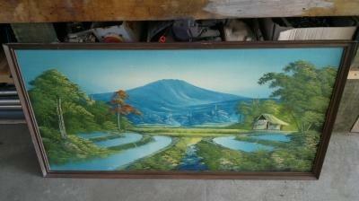 2 indonesische schilderijen