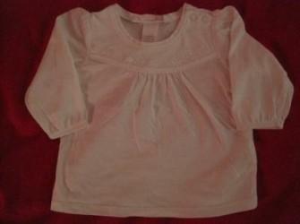 wit t-shirtje met borduursel