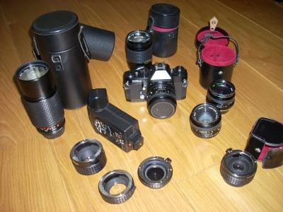 RICOH XR-1 speigelreflex camera