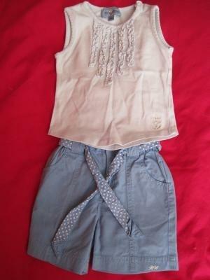 zomersetje (korte broek + hemdje) Riverwoods
