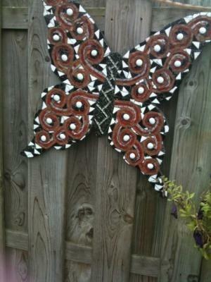 Mozaiek vlinder