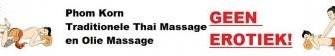 Traditionele Thaise of ontspanninsmassage