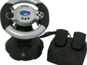 Stuur met Pedalen voor Playstation en PC