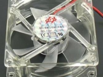 Case Fan Blauw Ventilator