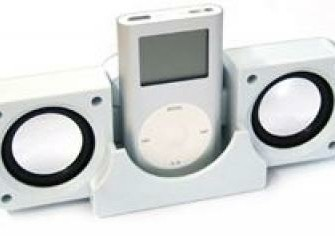 Luidspreker Station voor ipod mini