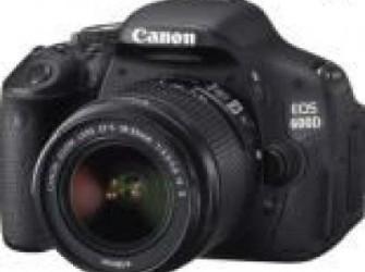 Canon EOS 600D Kit (18-55 IS II) - Nieuw!!