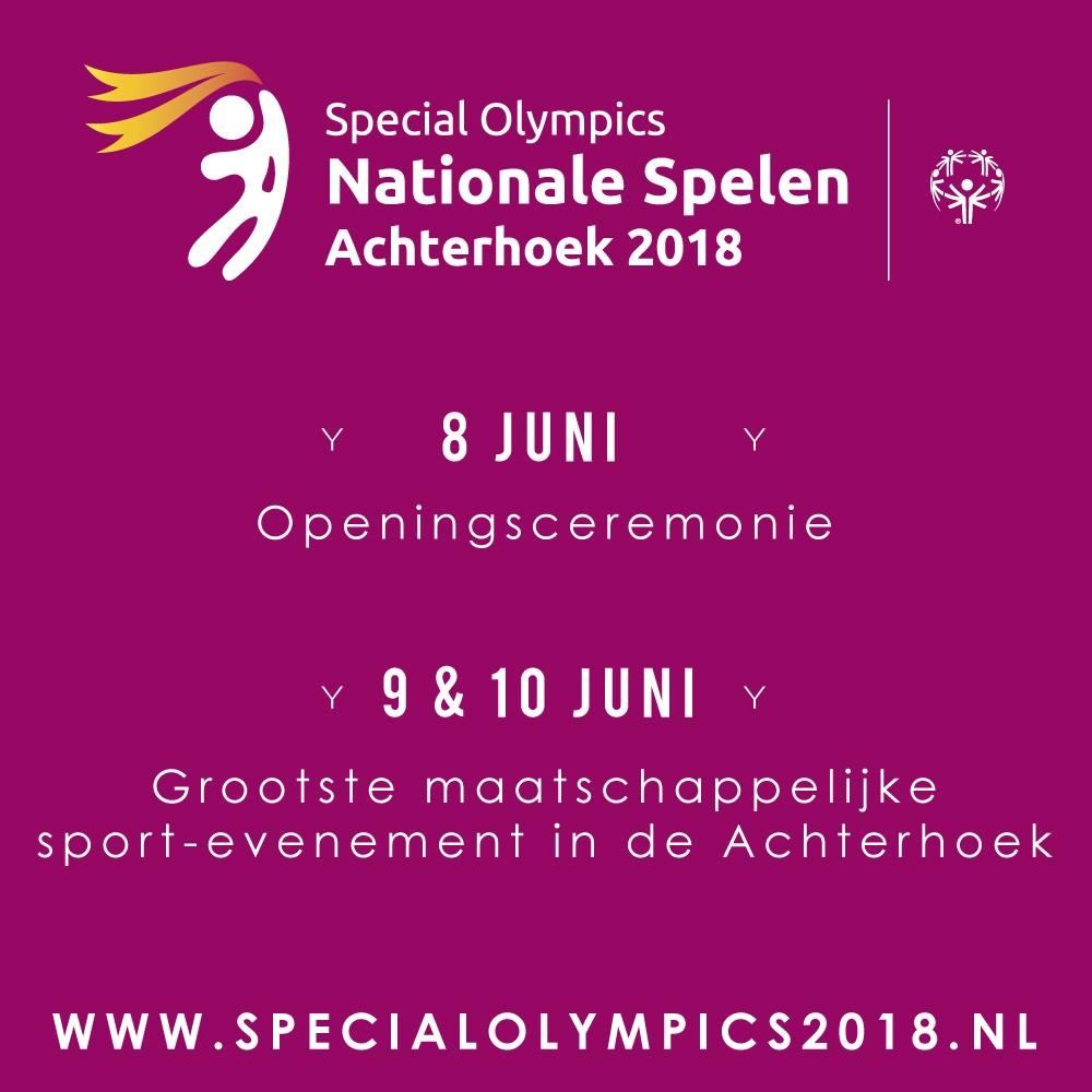 Special Olympics Achterhoek 2018