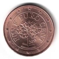 Oostenrijk 5 Cent 2018